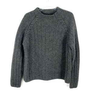 Banana Republic | Gray Lambswool & Alpaca Sweater